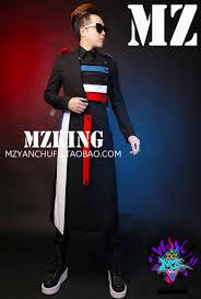 online shop origin design men u0027s long jacket overcoat male singer