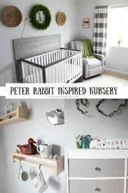 Gender Neutral Gifts by Gender Neutral Gray And White Peter Rabbit Natural Woodland Nursery