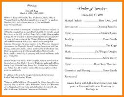 stunning funeral programs sample images top resume revision