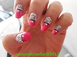 cute nails beautiful swirl nails 2 designs nail swirl design
