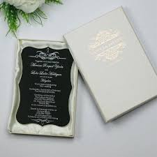 personalized cards wedding acrylic wedding invitations sle personalized luxury customized