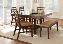 Silver Dining Chair Steve Silver Dining Room Eden Dining Table With 18 U0027 U0027 Lazy Susan