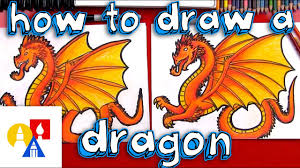 dragons for children how to draw a