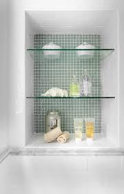 Glass Shelves Bathroom Lavista Park Renovation Interiors