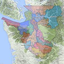 Seattle City Limits Map by Geographic Boundaries Of Puget Sound And The Salish Sea