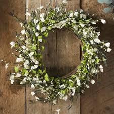 small cotton wreath wayfair