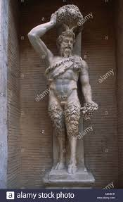 rome italy capitoline museum statue satyrs greek god pan god of