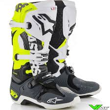 motocross boots alpinestars tech 10 angel limited edition 2018 boots v1mx