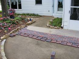 Concrete Patio With Pavers Installing Pavers Over Your Existing Patio Is A Great Way To