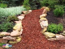 garden bark how to mulch with bark tower perennial gardens