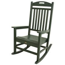 Rocking Chair Patio Furniture Green Rocking Chairs Patio Chairs The Home Depot