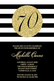 70th birthday party invitation cards tags 70th birthday