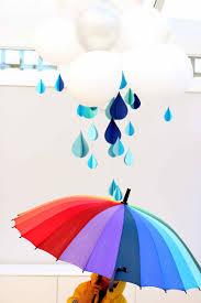 paper raindrops
