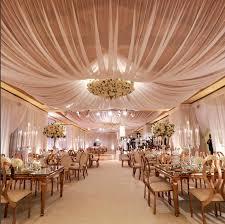 Ceiling Draping For Weddings Diy Bloom Box Designs Wedding Reception Indoor Wedding Draping The