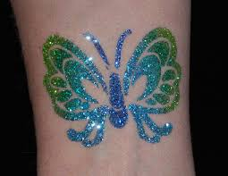 glitter tattoo artist for hire michigan