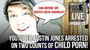 Cartoon Porn Memes - youtuber austin jones arrested on two counts of child porn