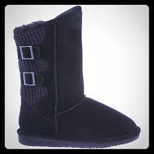 womens paw boots size 12 70 bearpaw shoes black paw boots s size 7 from