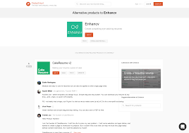free resume builder that i can save 5 alternatives to enhancv product hunt