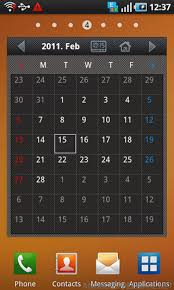 android freeware calendar widget free app android freeware free calendars
