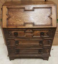 oak writing bureau uk oak writing desks bureaus furniture ebay