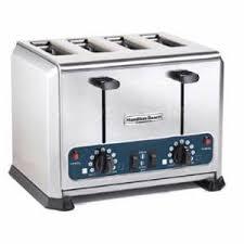 Hamilton Beach 4 Slice Toaster Hamilton Beach Hts455 4 Slot Pop Up Bread Bagel Toaster 208 240v