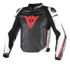 leather motorcycle accessories dainese super fast perforated leather jacket revzilla