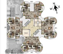 3 Bhk Apartment Floor Plan by Marathon Monte Vista Mumbai Discuss Rate Review Comment