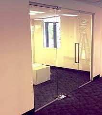 frameless glass doors melbourne frameless glass sliding doors cut price glass