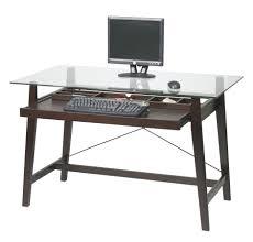 furniture office comfortable corner glass computer desk on