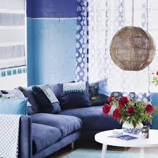 Blue Sofa Living Room Design by Living Room Colour Schemes