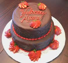 Welcome Home Cake Decorations Welcome Home Cake Cakecentral Com