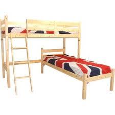 LShaped Bunk Beds Wayfaircouk - L bunk bed