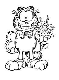 fun kids coloring pages 138 best garfield images on pinterest coloring pages drawings