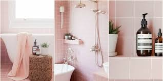 Pink Tile Bathroom Tour 2lg U0027s Pink Bathroom Pink Bathroom Tiles