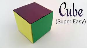 simple u0026 easiest cube on earth modular origami tutorial by paper