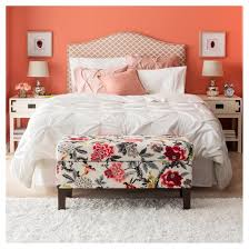 target threshold vintage washed solid blush pinched pleat comforter set full queen 3pc threshold