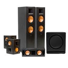 klipsch home theater systems standard home cinema system indoor 5 1 rf 82 ii klipsch
