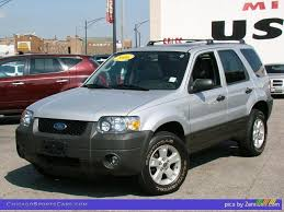 Ford Escape Horsepower - 2006 ford escape xlt v6 in silver metallic a55130