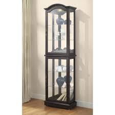 Curio Cabinet Corner Furniture Curio Cabinets Cheap Wall Mounted Curio Cabinet