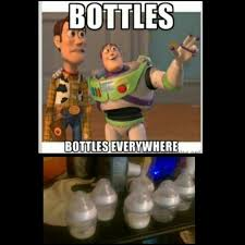 Everywhere Meme - bottles everywhere meme baby humor toy story hungry baby