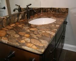 Bathroom With Marinace Stone Top Notch Tops Omaha - Bathroom vanity tops omaha
