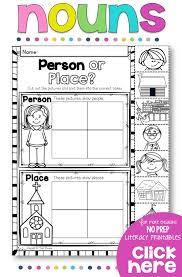 Proper Noun Worksheets For First Grade Best 25 Proper Nouns Worksheet Ideas Only On Pinterest Proper