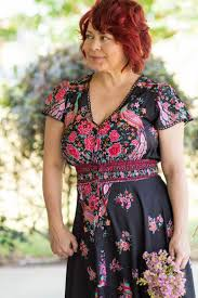 floral maxi dress with zaful a pocketful of polka dots