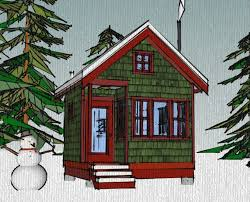 the borealis writer u0027s cabin 12 u0027x12 u2032 tiny house plans the borealis