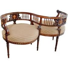 Kissing Chairs Antiques A Courting Chair I Would Love To Find One Similar Decor Galore