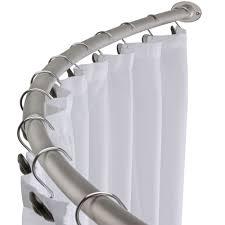curved shower curtain rod gordyn