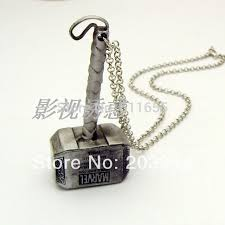 aliexpress com buy thor hammer necklace new movie free shipping