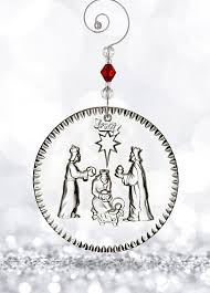 waterford 2017 nativity three wise ornament 2017