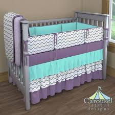 Teal And Purple Crib Bedding Purple Baby Bedding Auberge Purple Crib Bedding Sets Hamze