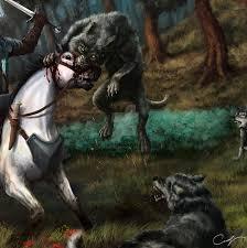 wild hunt witcher 3 werewolf wolves by maxifen by maxifen on deviantart